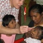 Scott Leckman, MD in India